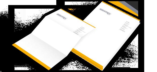 zentra-print-ch - Briefpapier